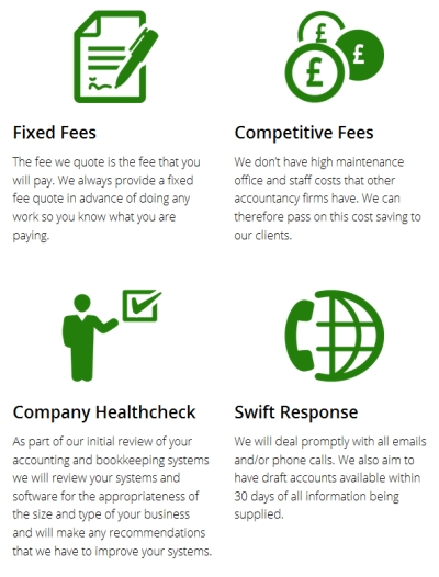 Stewart Accounting Services - Features